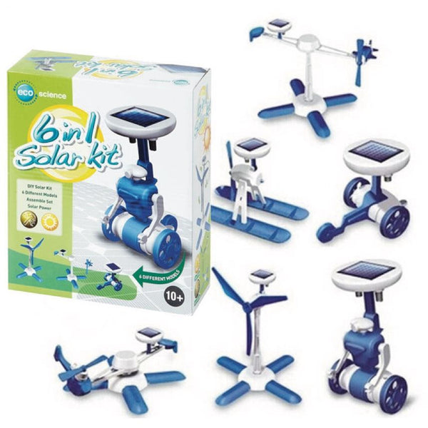 Eco Science 6 in 1 Solar Kit elenco