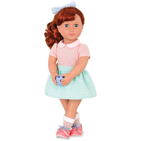 "Our Generation 18"" Retro Bowling Kaye Doll"