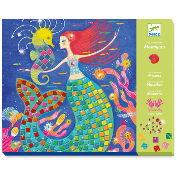 Djeco Art by Number Mosaic Kit The Mermaid Song canada ontario