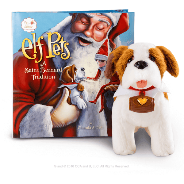 The Elf on the Shelf Elf Pet Saint Bernard