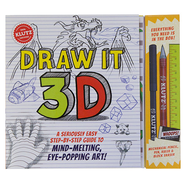 Klutz Draw It 3D canada ontario learn to draw