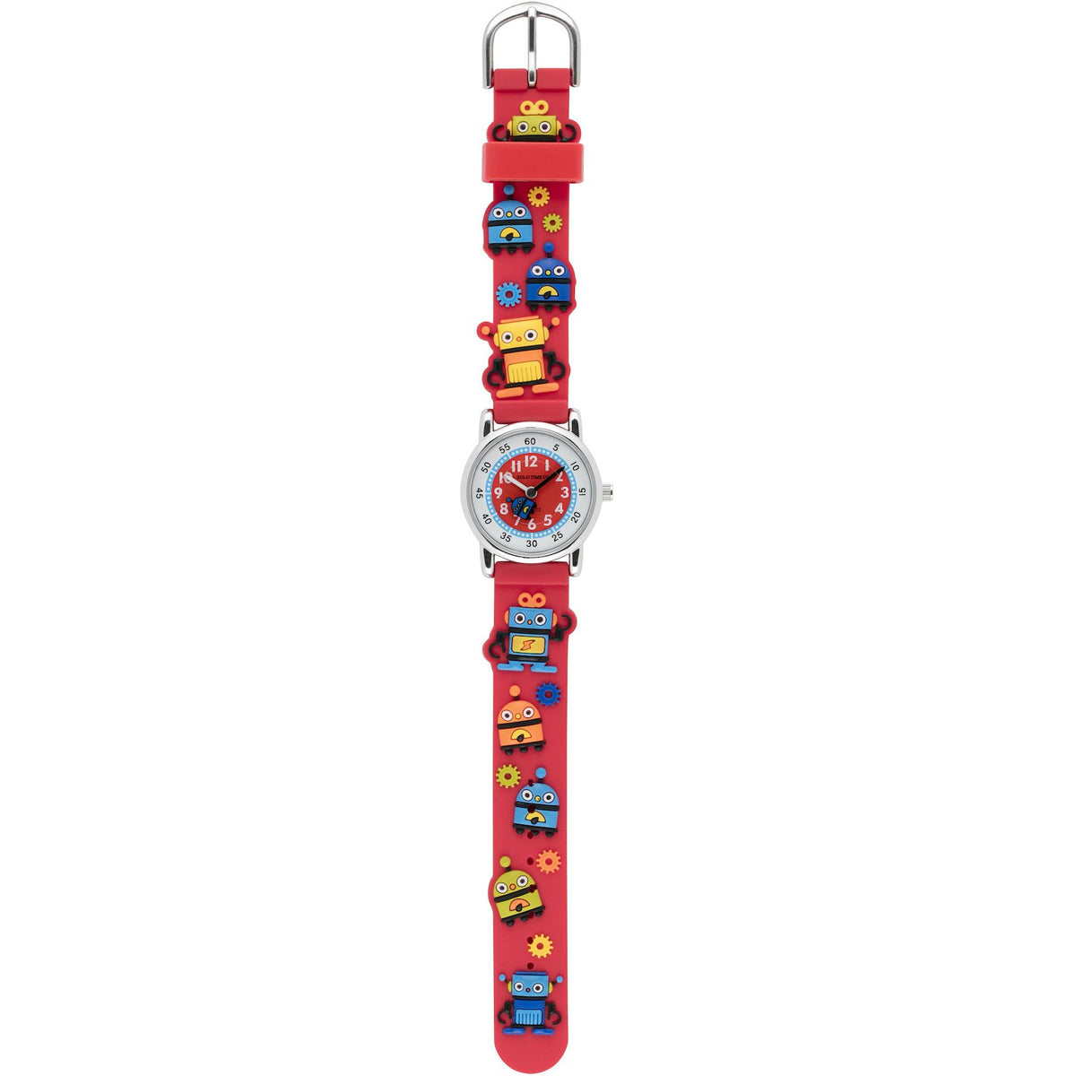 Solo Time Children's Quartz Watch Robot Red canada ontario analog