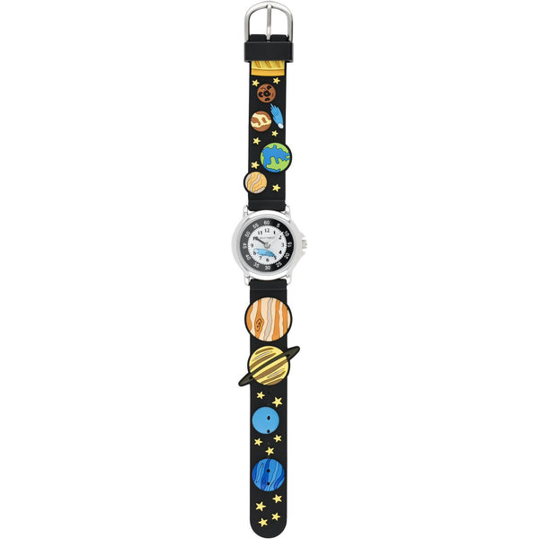 Solo Time Children's Quartz Watch Intergalactic space planets canada ontario analog