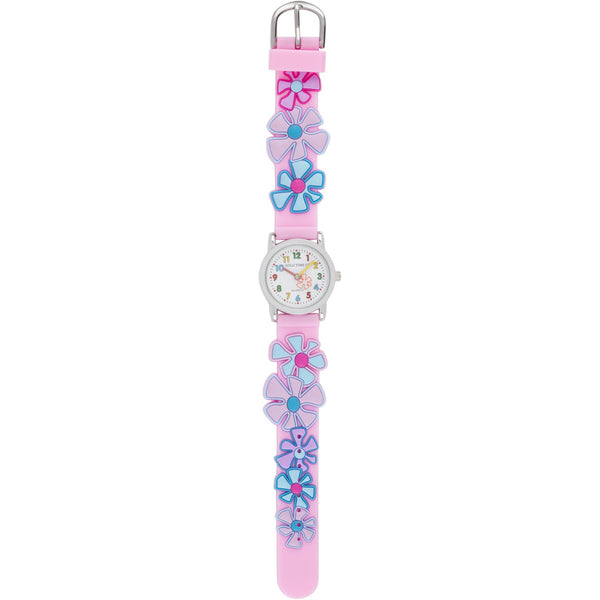 Solo Time Children's Quartz Watch Flower Power canada ontario pink