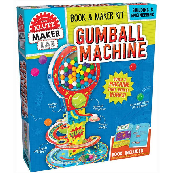 Klutz Maker Lab Build Your Own Gumball Machine
