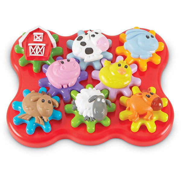Learning Resources Barnyard Friends Build & Spin canada ontario