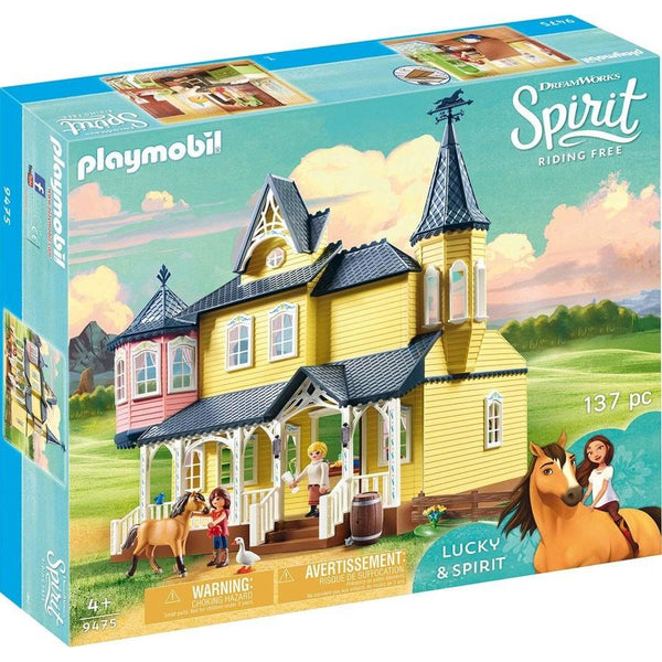Playmobil Spirit Riding Free Lucky's Happy Home 9475