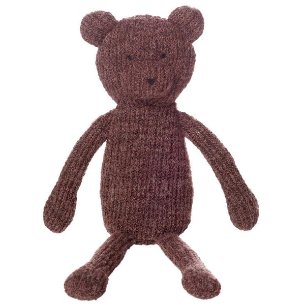 Manhattan Toys Knits Juno Bear 13""