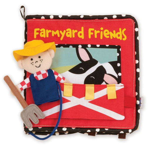 Manhattan Toys Farmyard Friends Book