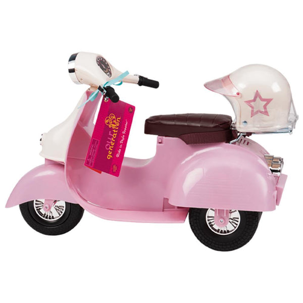 Our Generation Ride in Style Scooter pink 18 inch doll canada ontario vespa