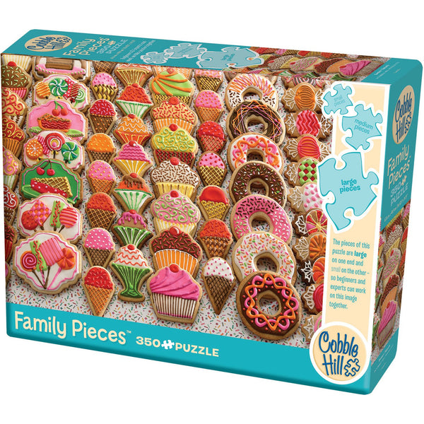Cobble Hill Family Jigsaw Puzzle 350 Piece Sweet Treats 54631 canada ontario