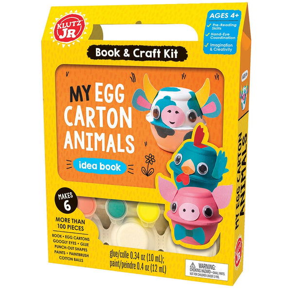 Klutz My Egg Carton Animals Idea Book canada ontario