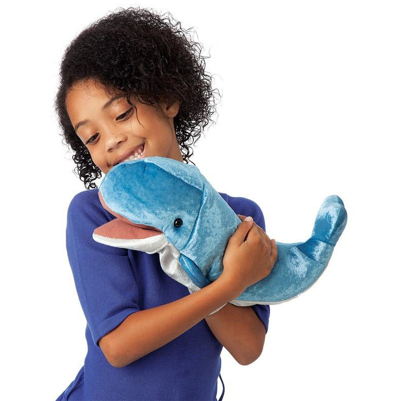 Folkmanis Whale Puppet 3040 canada blue ontario