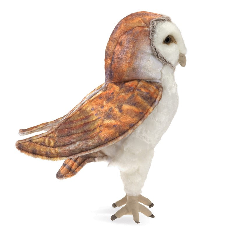 Folkmanis Barn Owl Hand Puppet 3124 canada ontario toy store