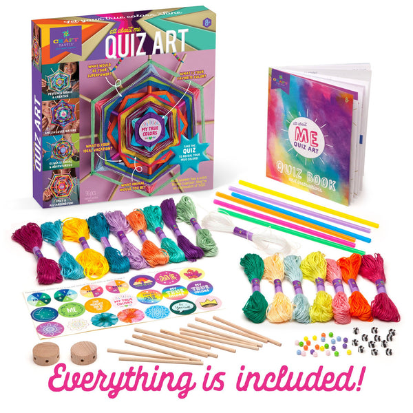 Ann Williams Craft-tastic All About Me Quiz Art Kit canada ontario