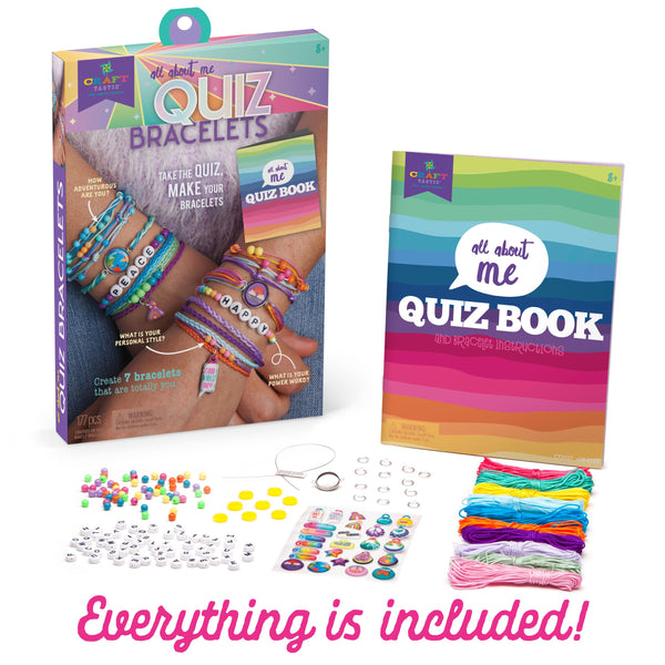 Ann Williams Craft-tastic All About Me Quiz Bracelets Kit canada ontario