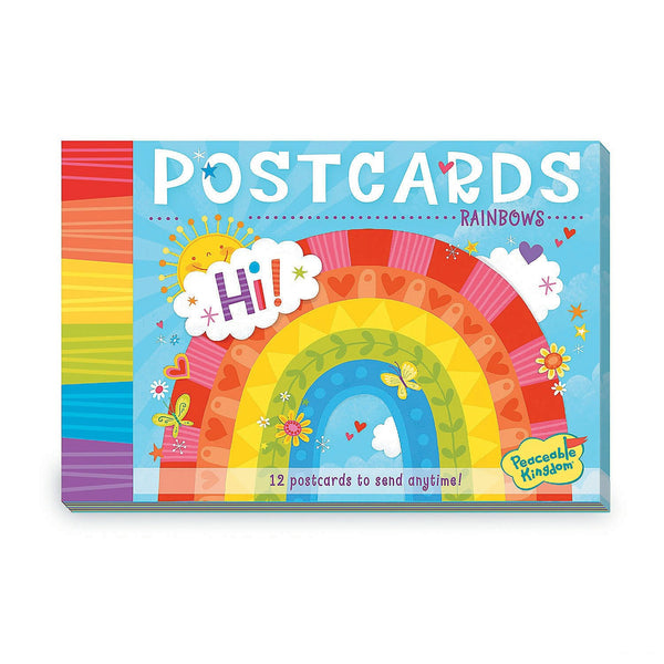 Peaceable Kingdom Rainbow Postcards canada ontario