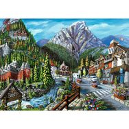 Ravensburger 1000 Piece Puzzle Welcome to Banff 16481 canada ontario