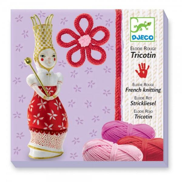 Djeco French Knitting Red Elodie canada ontario