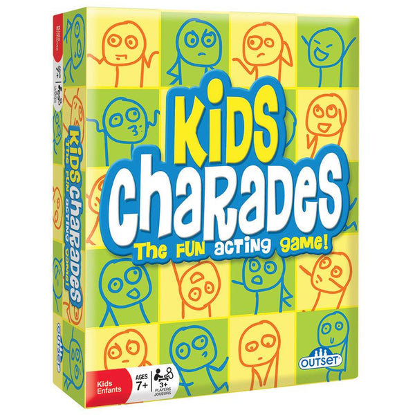 Kids Charades outset media canada