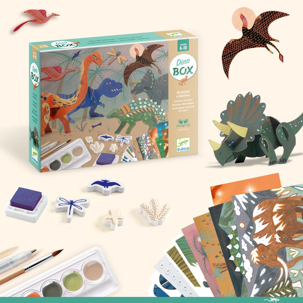 Djeco Multi-Activity Kit World of Dinosaurs