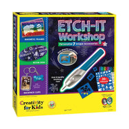 Creativity for Kids Etch-It Workshop canada ontario