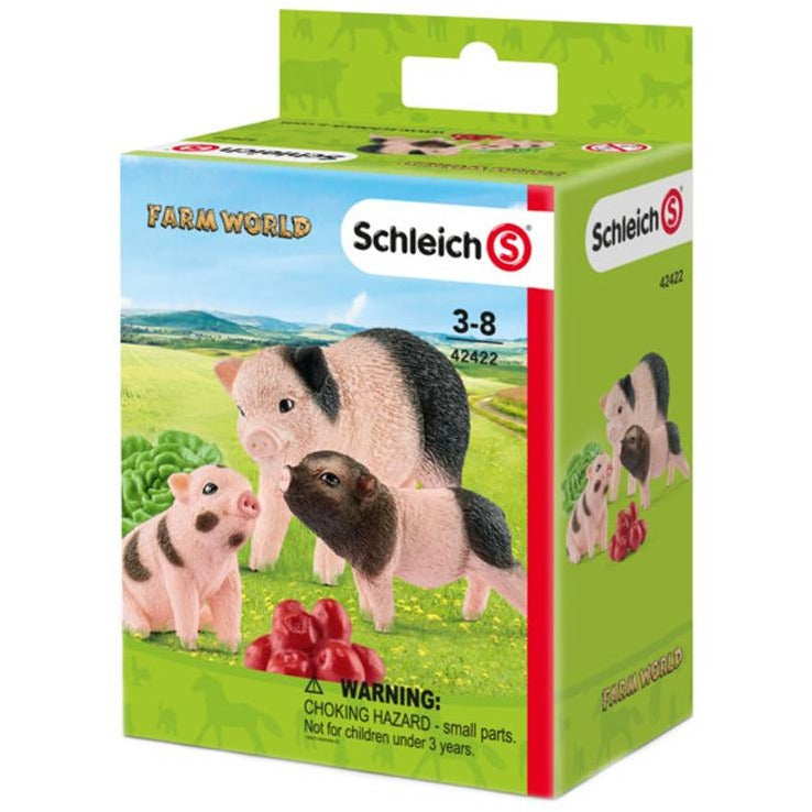 Schleich Farm World Miniature Pig Mother and Piglets 42422 canada