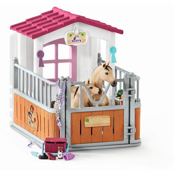 Schleich Horse Stall with Arab Horse