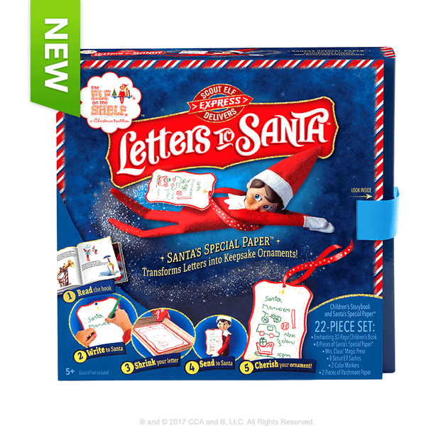 The Elf on the Shelf Letters to Santa