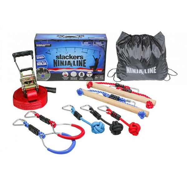 B4 Adventures Ninjaline 30' Intro Kit with 7 Hangers