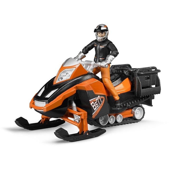 Bruder Snowmobile with Driver