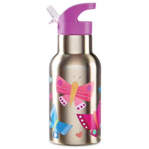 Crocodile Creek Stainless Steel Bottle Butterfly Dreams 10605 canada ontario