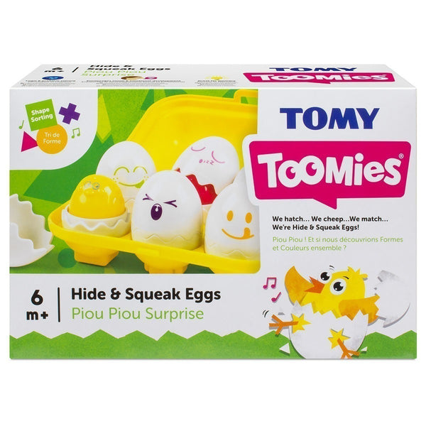 Tomy Hide n Squeak Eggs canada easter