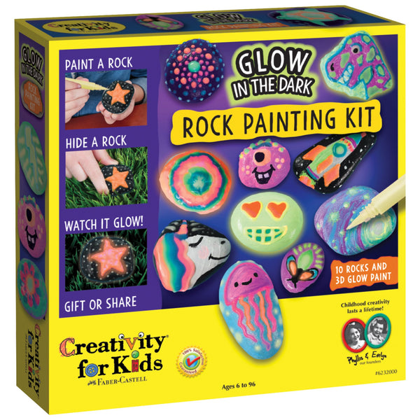 Creativity for Kids Glow in the Dark Rock Painting Kit canada ontario