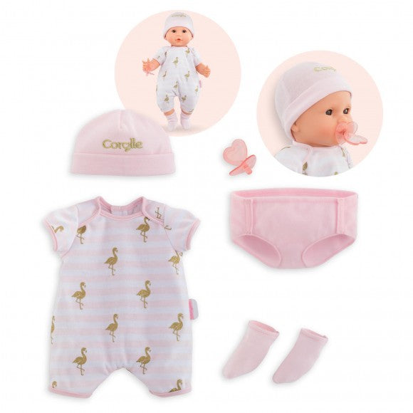 "Corolle Mon Grand Poupon 14"" Doll Outfit Layette Set 140550 canada ontario"