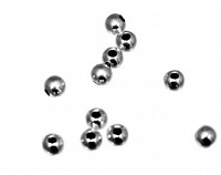Sterling Silver Small Hole Bead in 2mm to 10mm - atlanta-jewelers-supply