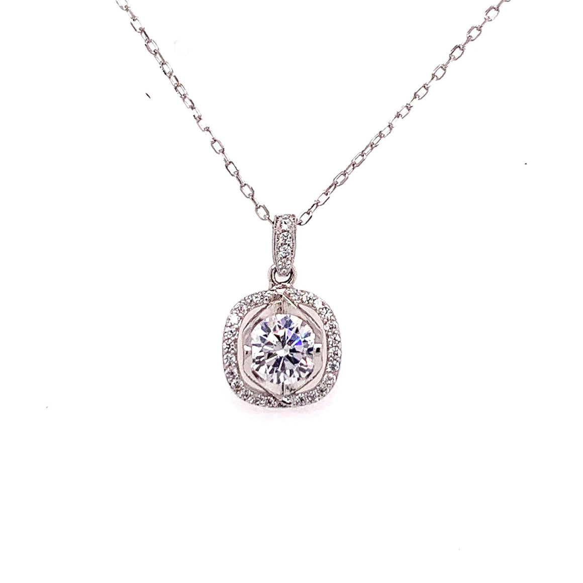 Sterling Silver Zoe Necklace - Atlanta Jewelers Supply