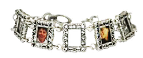 Sterling Silver Decorative Picture Prames within the Bracelets atlanta-jewelers-supply.myshopify.com