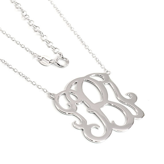 Sterling Silver Initial Necklace Is The Perfect Classy Way To Your Style. - atlanta-jewelers-supply