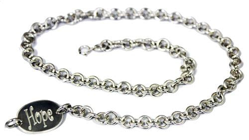 Sterling Silver Engravable Rolo Chain Necklace - Atlanta Jewelers Supply