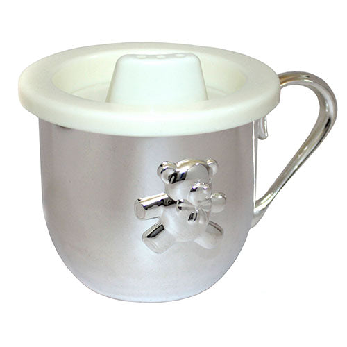 Charming Engravable Teddy Bear Baby Cup atlanta-jewelers-supply.myshopify.com