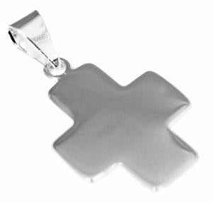 German Silver Engravable Cross Pendant atlanta-jewelers-supply.myshopify.com
