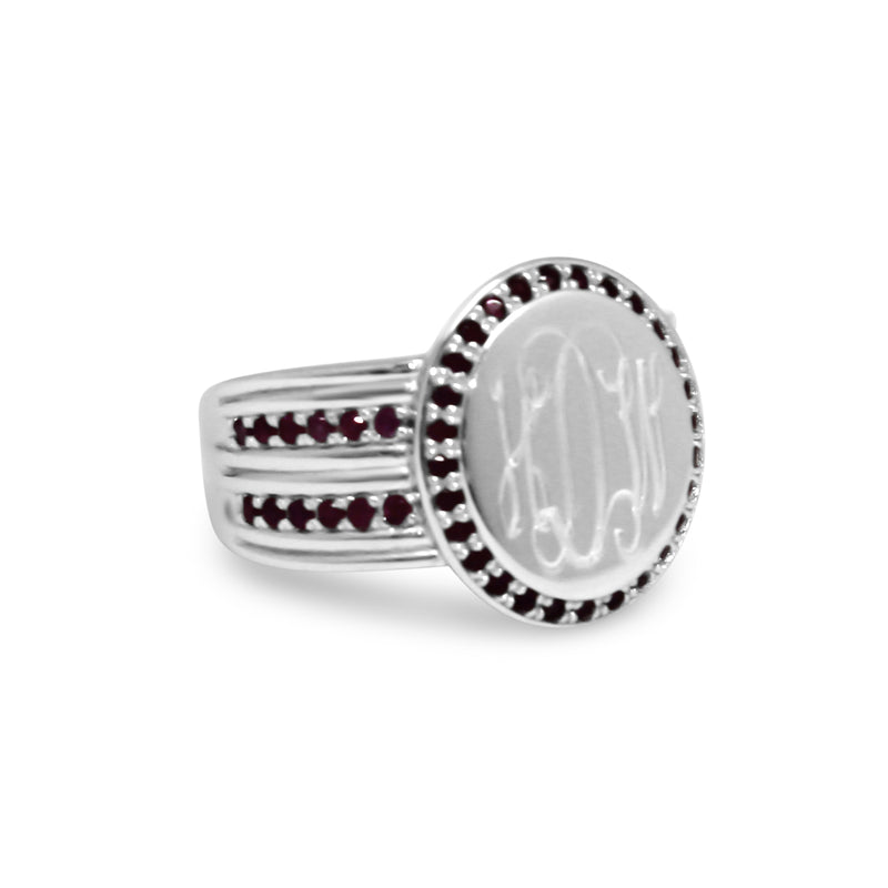 Sterling Silver Ruby Ring - Atlanta Jewelers Supply