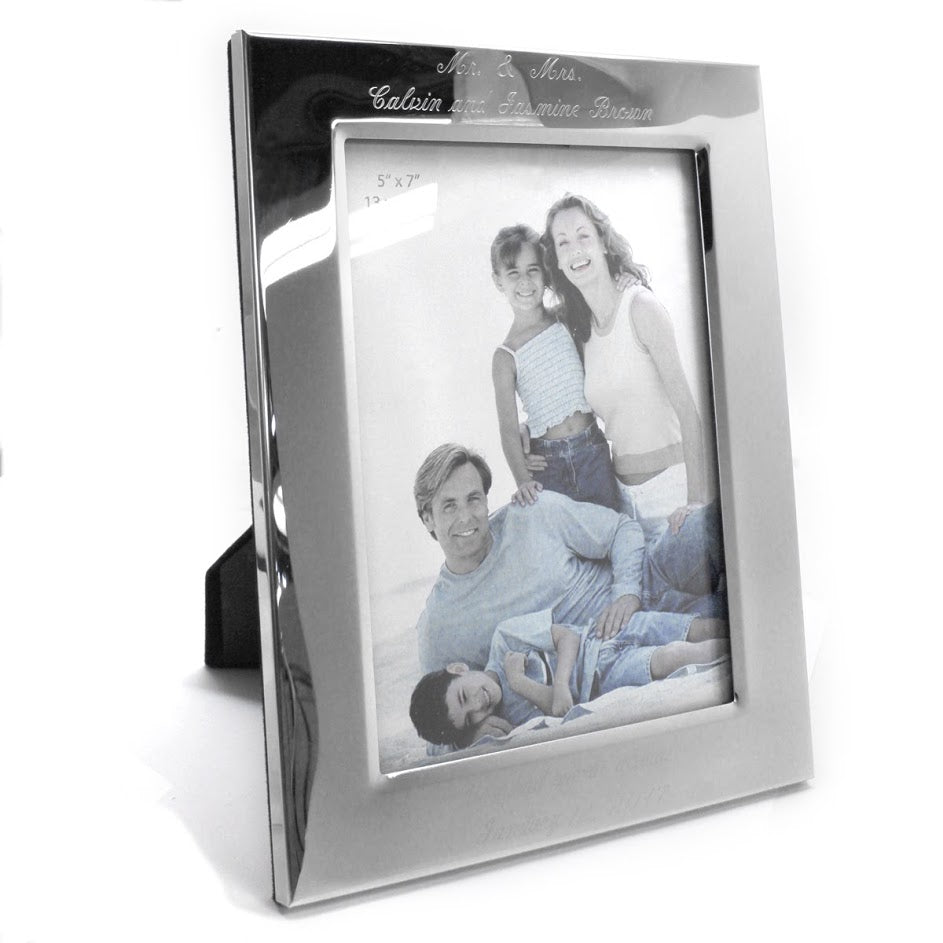 Engravable Picture Frame Available in 4x6 ,5x7, and 8x11 Size atlanta-jewelers-supply.myshopify.com