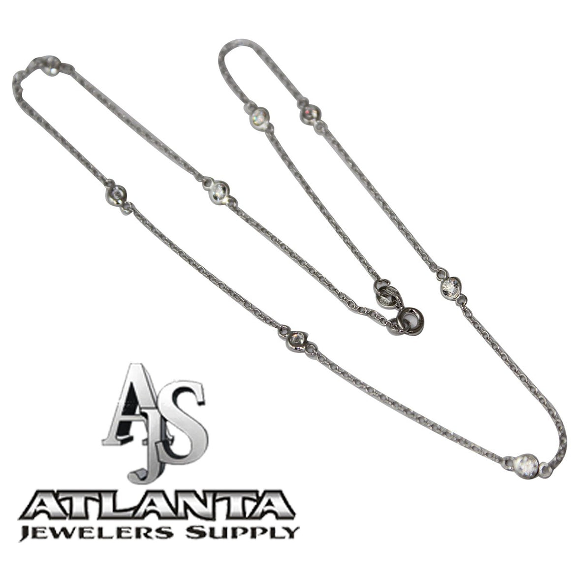 16 Diamond By The Yard Necklace atlanta-jewelers-supply.myshopify.com