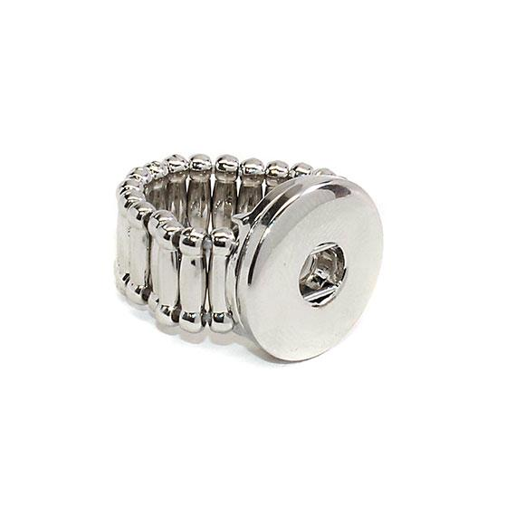 Non Silver Stretch Snap Ring That Is Adjustable To Fit Any Size Finger atlanta-jewelers-supply.myshopify.com