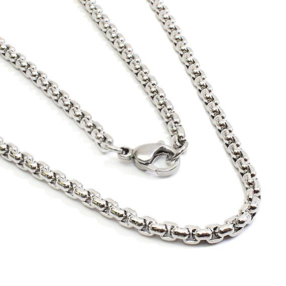 Stylish Stainless Steel 16 Box Chain - atlanta-jewelers-supply