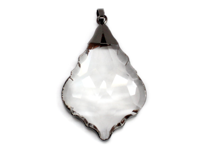 Clear Crystal Pendant atlanta-jewelers-supply.myshopify.com