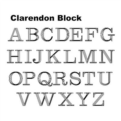 Block Font - Atlanta Jewelers Supply
