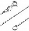 "Sterling Silver 1 mm Silver Box Chains 14""-24"" (BOX 015 Guage) - Atlanta Jewelers Supply"
